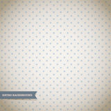 Polka dot pattern. Abstract retro background Stock Photography