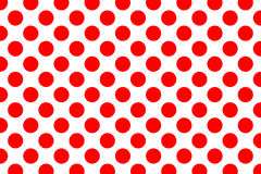 Polka dot pattern. Color Polka dot pattern background Stock Photos