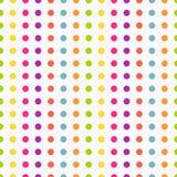 Polka dot pattern Stock Image