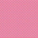 Polka Dot Pattern del cuore Fotografia Stock Libera da Diritti