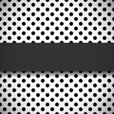 Polka dot pattern Stock Images