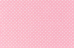 Polka dot pattern stock photo
