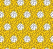 Polka Dot Pattern, fond sans couture de vecteur Photo stock