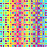 Polka dot pattern. Seamless vector geometric background Stock Image