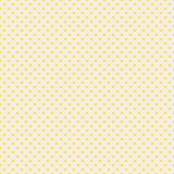 The polka dot pattern. Seamless vector illustration with round circles, dots. Yellow and beige. vector illustration