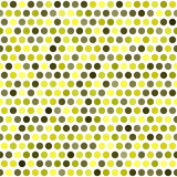 Polka dot pattern. Vector seamless dot background Royalty Free Stock Photography