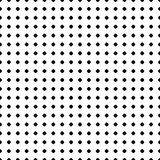 Polka dot pattern. Vector seamless texture. Black & white  Stock Photo