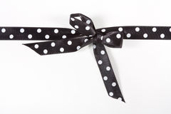 Polka Dot Ribbon Stock Photography