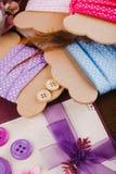 Ribbon bobbins Royalty Free Stock Image