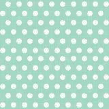 Polka dot seamless pattern vector illustration