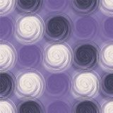 Polka dot seamless pattern with abstract circles. Stock Photography