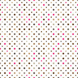Polka dot seamless pattern Royalty Free Stock Images