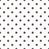Polka dot seamless pattern background Royalty Free Stock Photos