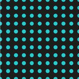 Polka dot seamless pattern. Dotted background with circles, dots, rounds Vector illustration Royalty Free Stock Images
