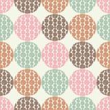 Polka dot seamless pattern. Fluffy polka dots. Stock Photos