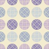 Polka dot seamless pattern. Geometric background. The colorful balls. Тextile rapport Royalty Free Stock Photo