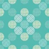Polka dot seamless pattern. Geometric background. The colorful balls. Тextile rapport Stock Images