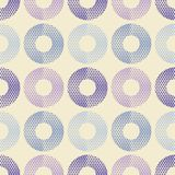 Polka dot seamless pattern. Geometric background. The colorful balls. Scribble texture. Тextile rapport Royalty Free Stock Photo