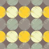 Polka dot seamless pattern. Halftone. Geometric background. The colorful balls. Тextile rapport Stock Images