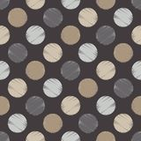 Polka dot seamless pattern. Halftone. Geometric background. The colorful balls. Тextile rapport Stock Photo
