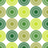 Polka dot seamless pattern. Leaves texture. Textile rapport Stock Photos
