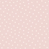 Polka dot seamless pattern in popular colors. Soft pink and powdery. Asbstract vector background, cute endless texture for cards, fabric, invitations, baby Stock Photos