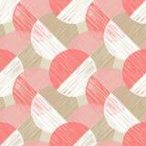 Polka dot seamless pattern. Scribble texture. Stock Photo