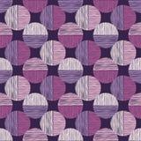 Polka dot seamless pattern. Scribble texture. Royalty Free Stock Photos