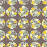 Polka dot seamless pattern. Spots texture. 3D balls. Textile rapport Royalty Free Stock Images