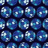 Polka dot seamless pattern. Spots texture. 3D balls. Textile rapport Stock Photo
