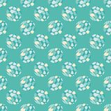 Polka dot seamless pattern. Spots texture. 3D balls. Textile rapport Royalty Free Stock Photography