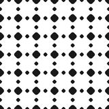 Polka dot seamless pattern, vector black & white subtle dotted t Royalty Free Stock Photography