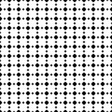 Polka dot seamless pattern, vector black & white subtle dotted t Royalty Free Stock Photo