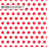 Polka dot seamless pattern. Vector illustration. Texture design for background Royalty Free Stock Photos
