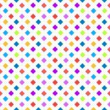 Polka dot squares seamless background Royalty Free Stock Photo