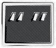 Polka Dot SYMBOL illustration Stock Photography