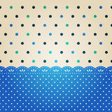 Polka dot texture Stock Photography