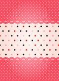 Polka dot texture Stock Image