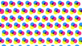 Polka dot transitions stock video
