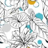 Polka Dot Tropic royalty-vrije illustratie