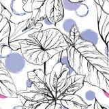 Polka Dot Tropic stock illustratie