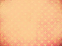 Polka dot wallpaper. With vintage filter effect for retro grunge background Stock Photos