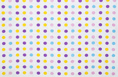 Polka dots background Royalty Free Stock Image