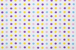 Polka dots background Royalty Free Stock Image