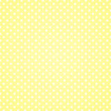 Polka Dots Background de vanille Photo libre de droits