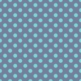 Polka Dots Blue Background illustration stock