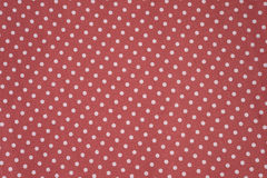 Polka dots fabric Stock Images