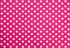 Polka Dots Fabric royalty free stock images