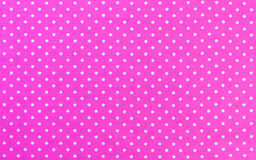 Polka Dots Fabric Royalty Free Stock Image