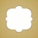 Polka dots greeting card Stock Photo